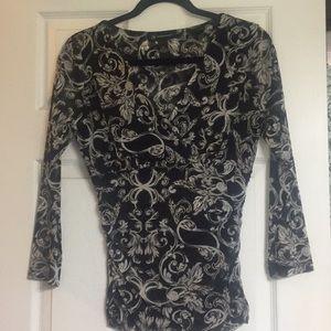 Inc long sleeve blouse/top size medium